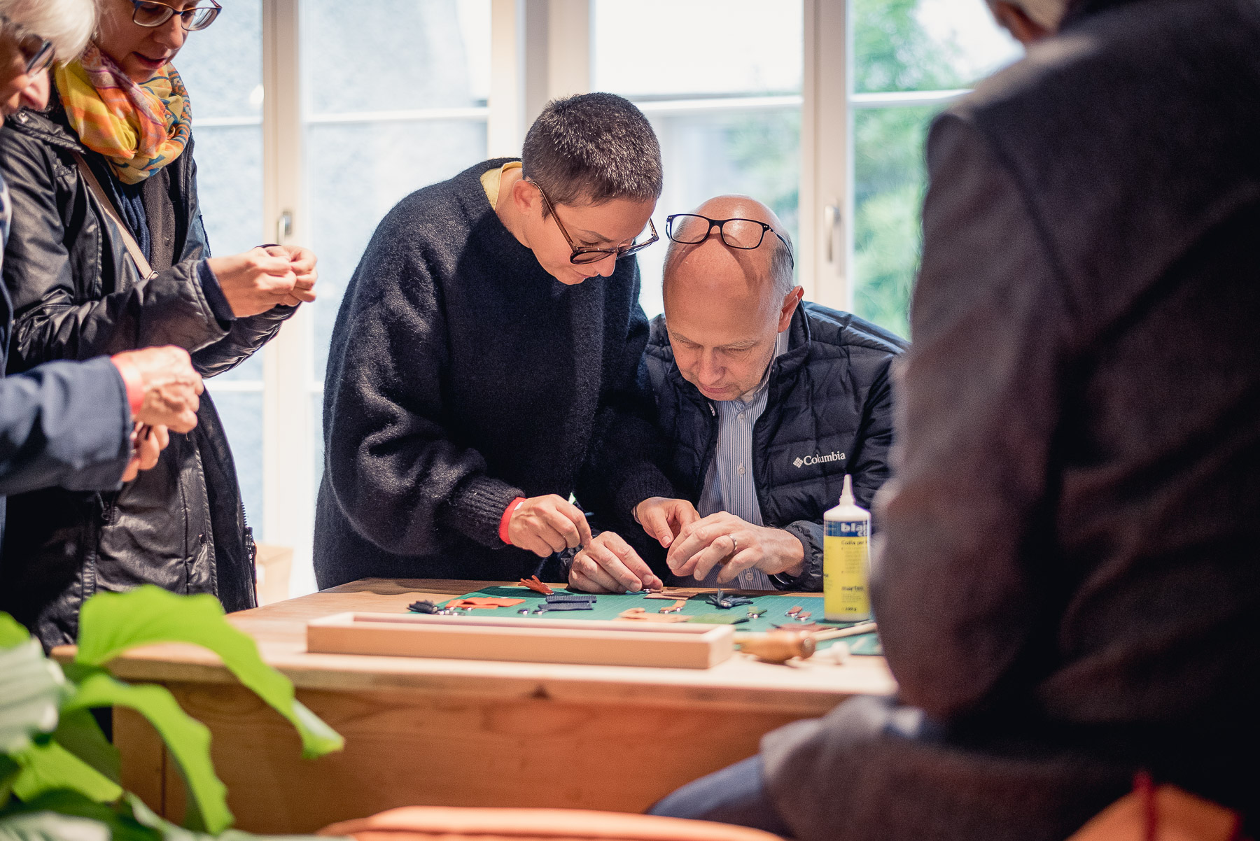 DESIGNRUNDGANG mit Kreativ-Workshop