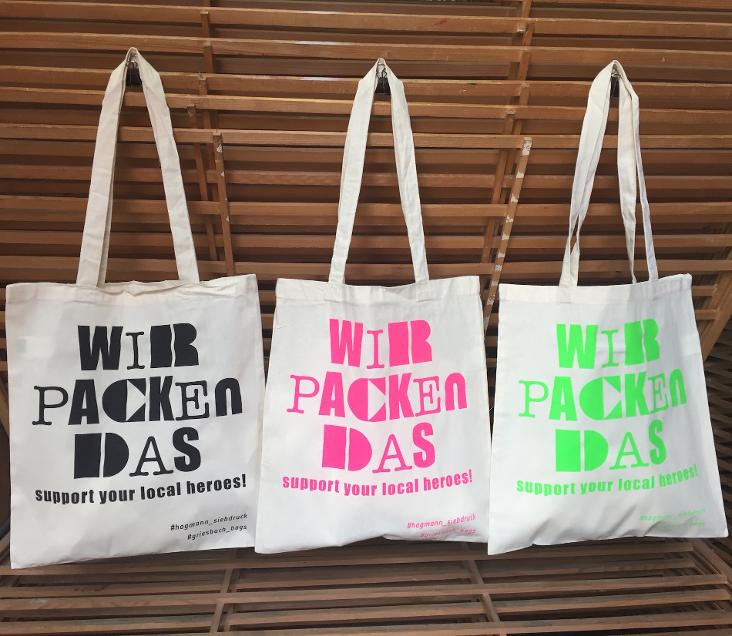 WIR PACKEN DAS - Support your local heroes!