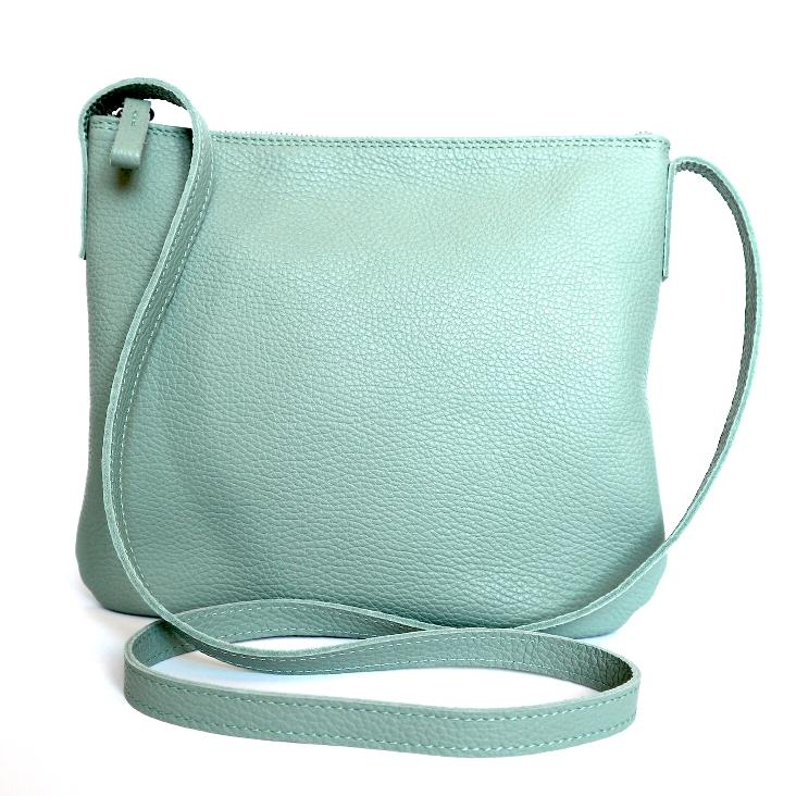 Griesbach – Ina Bag aus genarbtem Leder Farbe Ice-Blue